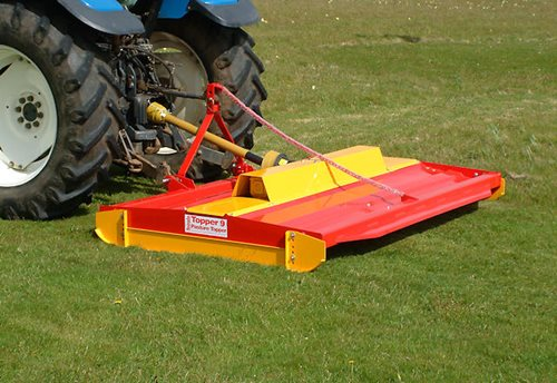 Shaft Driven Pasture Topper Hover