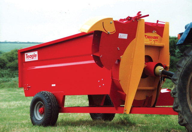 Tomahawk 700 Box type Shredder