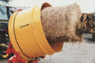Tomahawk 400 & 500 Baled Straw Shredders