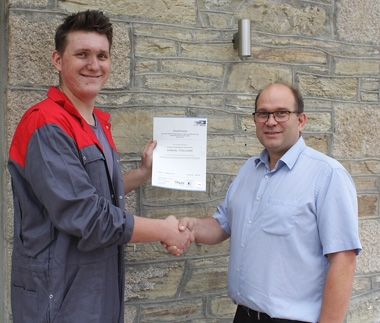 Engineering Apprentice Sam Williams