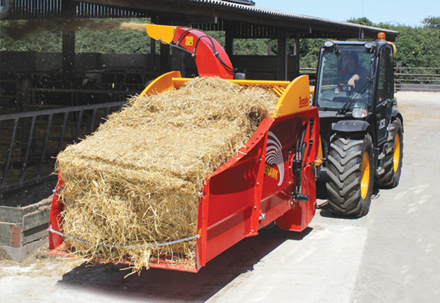 Launch of Telehawk Straw Spreader