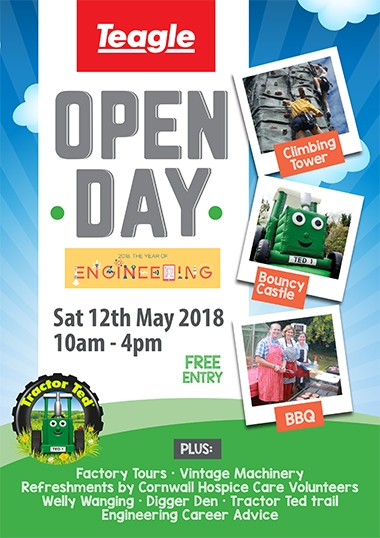 Open Day - 12th May