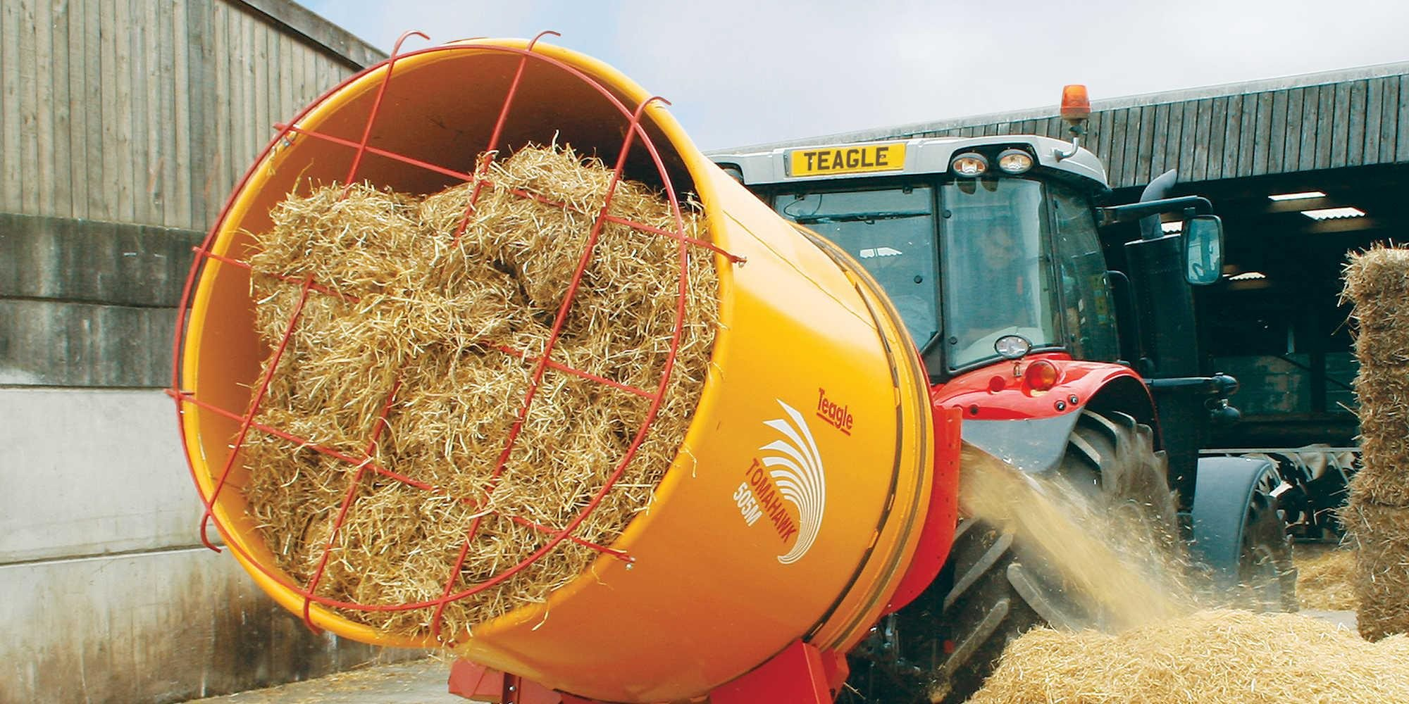Drum Tomahawk 404M, 505M, 505XLM Straw Mill   Teagle