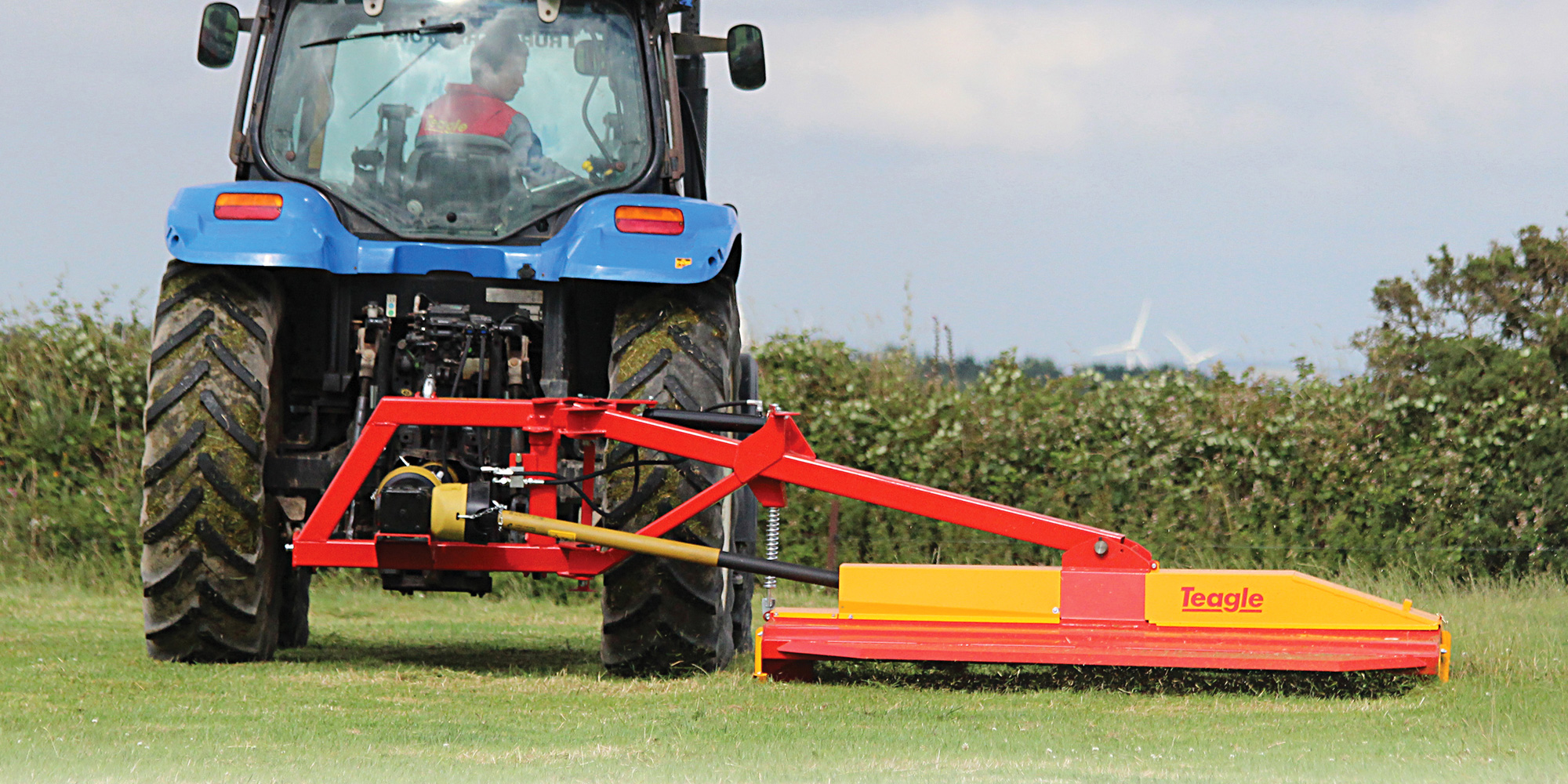 A high quality range of British Built grasscare equipment